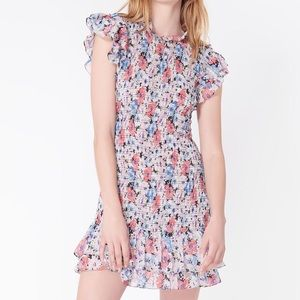 Veronica Beard Floral Dress